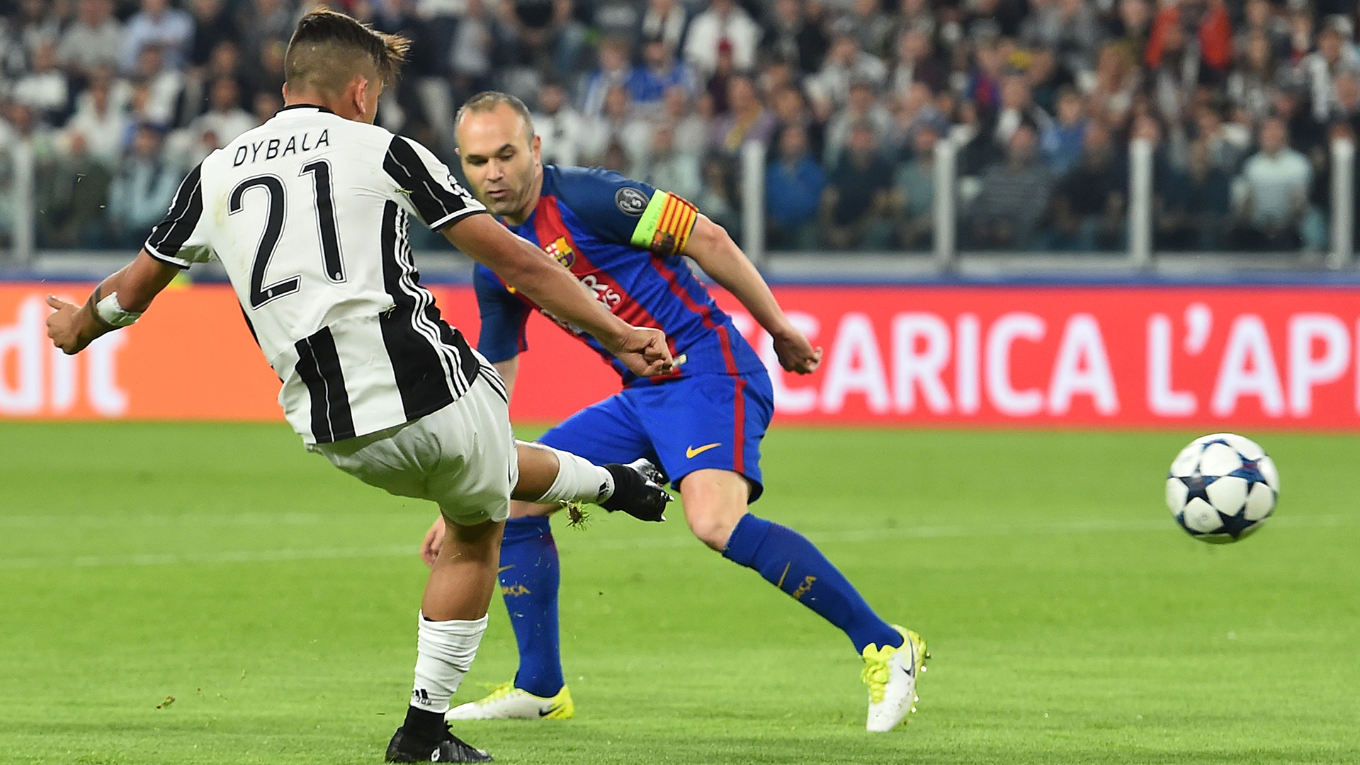 Paulo Dybala Juventus Barcelona