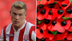 James McClean poppy intolerance