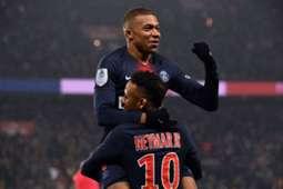Neymar Mbappé PSG 2019