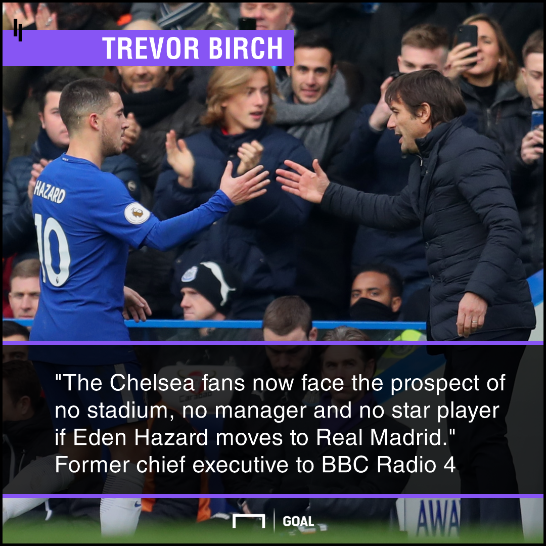 Chelsea no stadium manager star player Trevor Birch