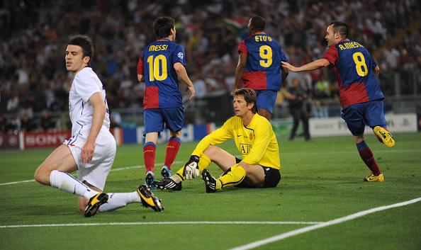 Michael Carrick United Barcelone UEFA Champions League Final 2009