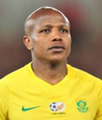South Africa, Lebogang Manyama against Senegal