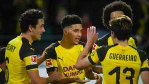 Jadon Sancho Thomas Delaney Borussia Dortmund