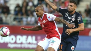 Thomas Fontaine Andy Delort Reims Montpellier Ligue 1 01092018