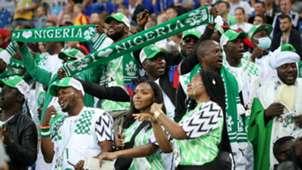 Croatia vs. Nigeria - Nigeria fans