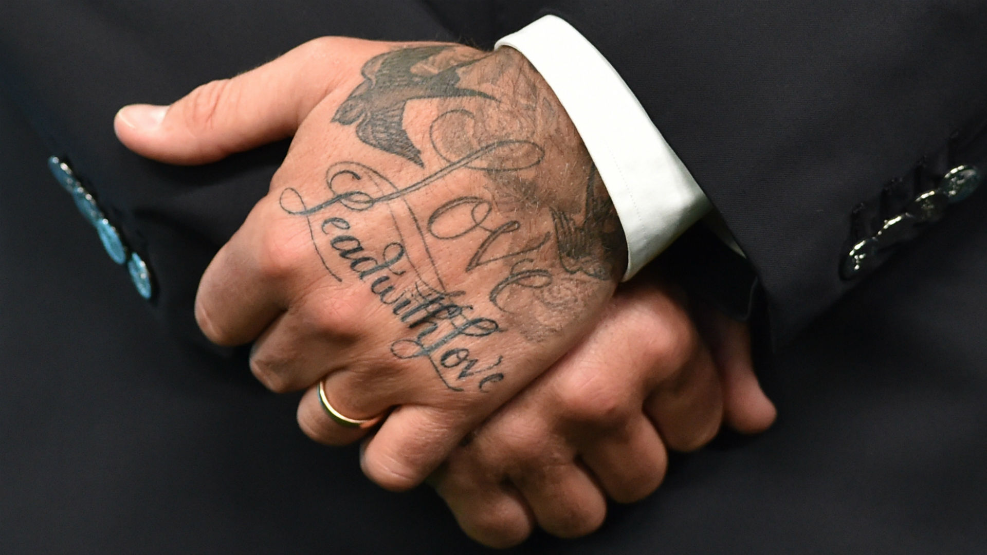 David Beckhams Tattoos Where Are They And What Do Mean