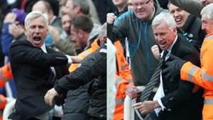 Alan Pardew Newcastle Fulham 2013
