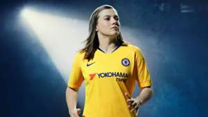 Fran Kirby Chelsea Away Kit