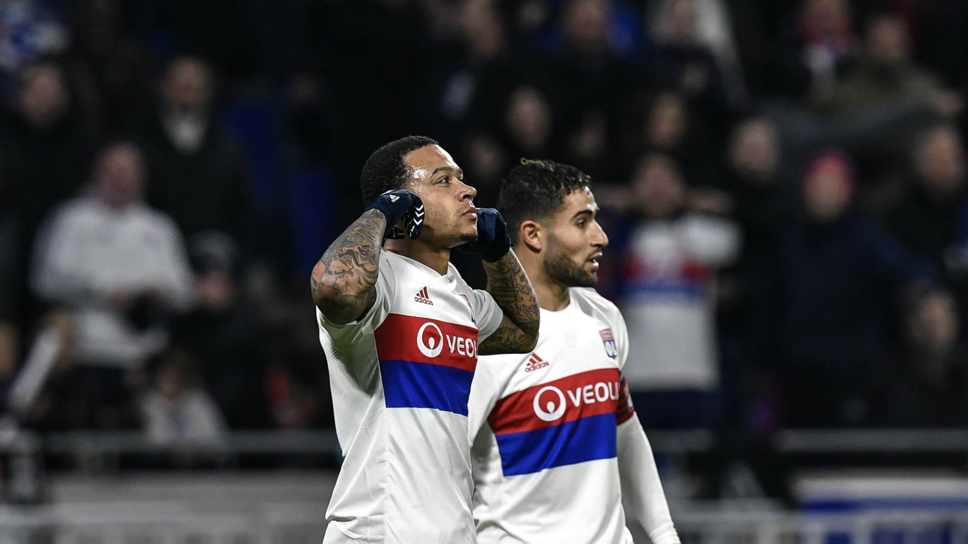 Memphis Depay, Nabil Fekir, Olympique Lyon - Villarreal, Europa League 02152018