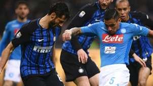 Candreva Allan Inter Napoli Serie A