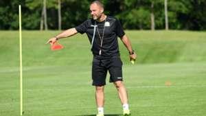Sebastien Migne of Harambee Stars coach