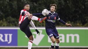 Jong PSV - Emmen, Jurich Carolina, Pieter Nys, 05022018