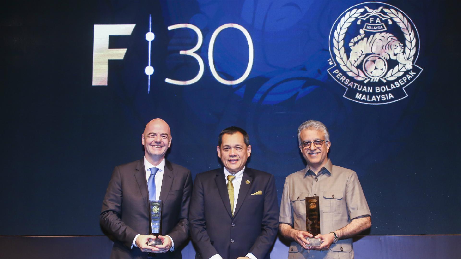 Dato Hamidin Mohd Amin, FAM president, Malaysia