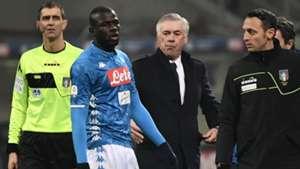 SSC Neapel Carlo Ancelotti Kalidou Koulibaly 26122018