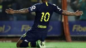 Edwin Cardona Boca Tigre Superliga Fecha 11