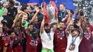 Alisson Liverpool celebrate