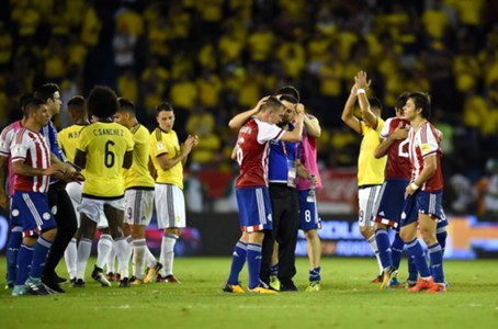 Colombia pierde ante Paraguay, Eliminatoria Sudamericana 2018