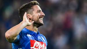Dries Mertens Udinese Napoli Serie A