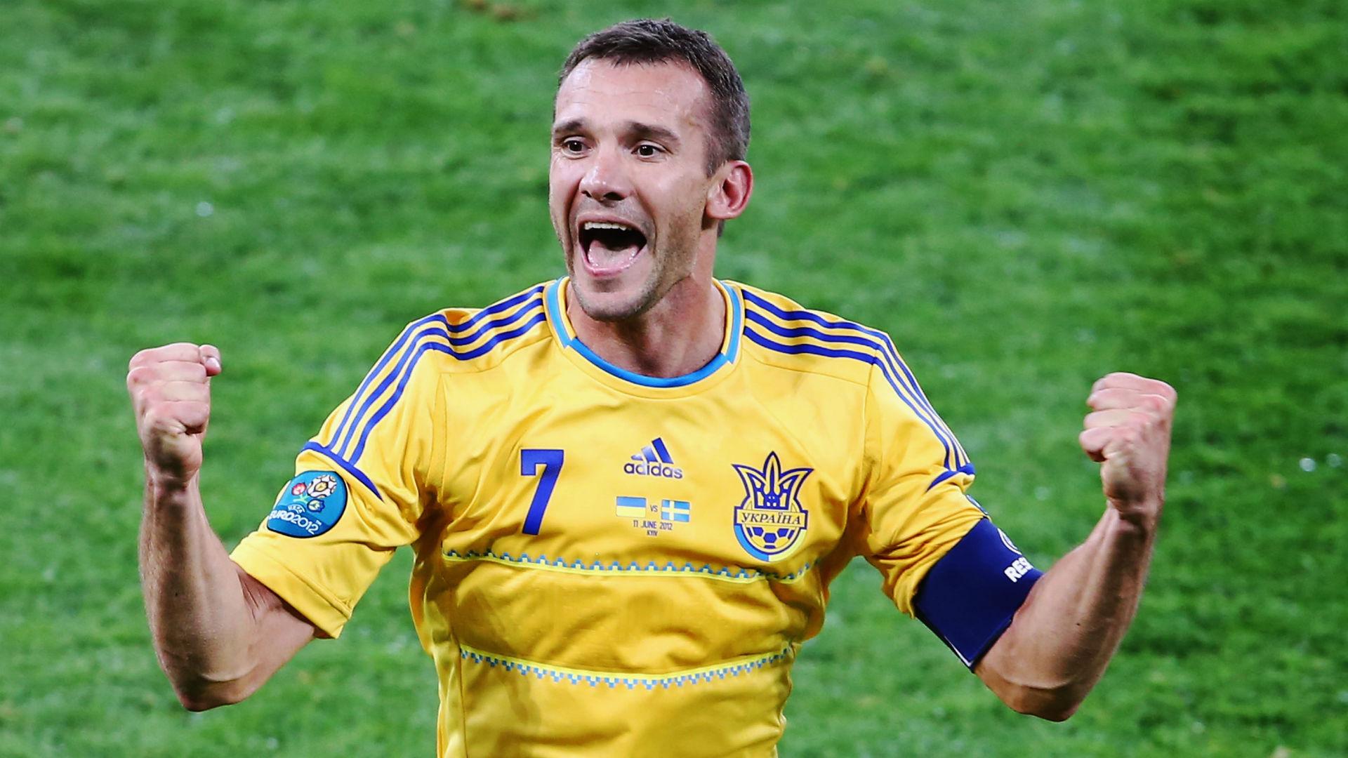 Andriy Shevchenko Ukraine