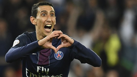 Angel Di Maria PSG Guingamp Ligue 1 09042017
