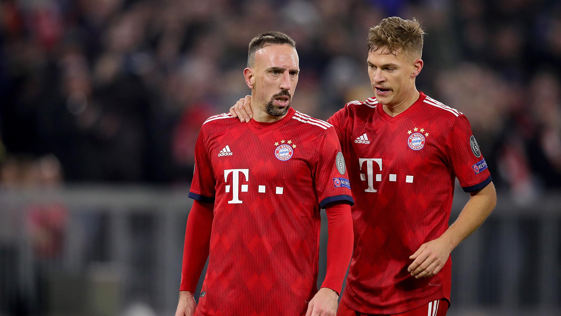 Franck Ribery Joshua Kimmich FC Bayern