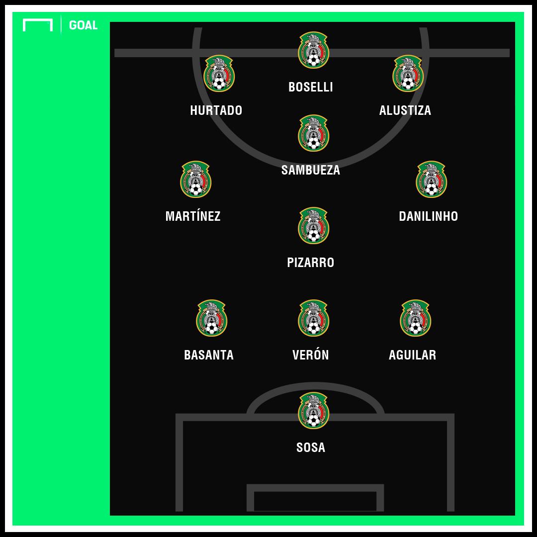 Selección mexicana naturalizados