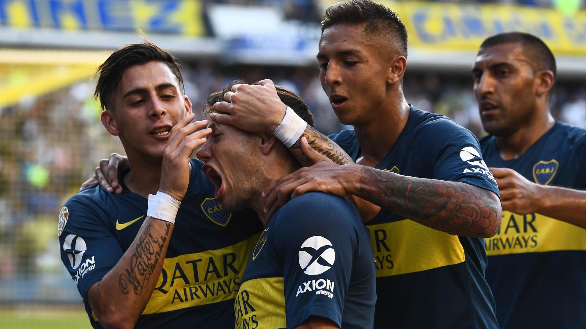 Boca Godoy Cruz Superliga Pavon Zarate Almendra Wanchope Abila 030219