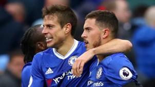 Cesar Azpilicueta Eden Hazard Chelsea