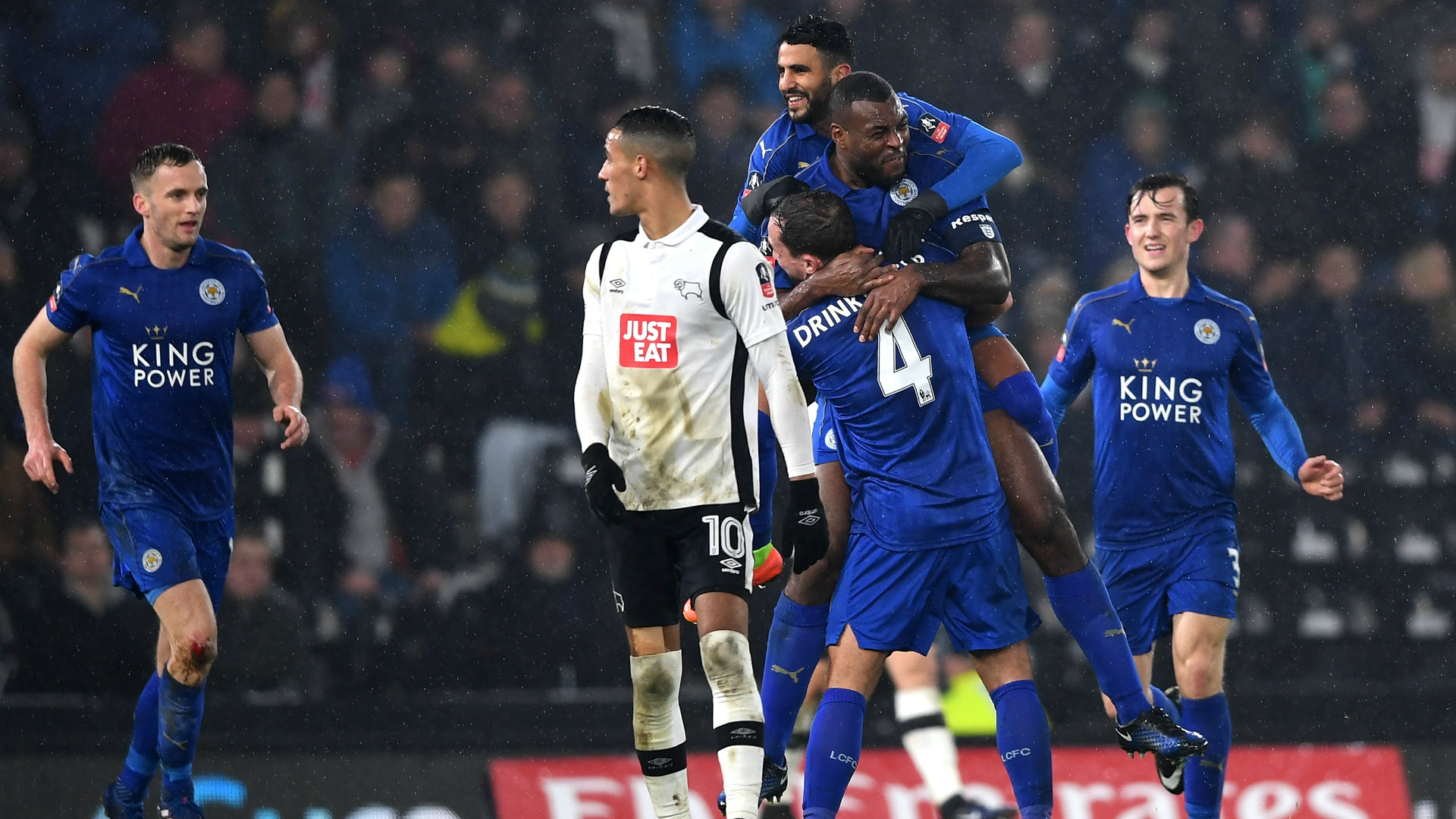 Derby County Leicester City FA Cup 27012017