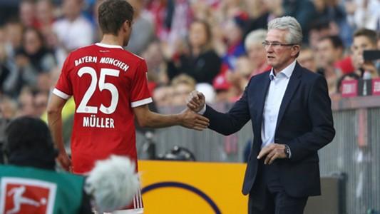 Jupp Heynckes Thomas Müller FC Bayern 14102017