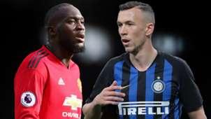 Romelu Lukaku Ivan Perisic Man Utd Inter