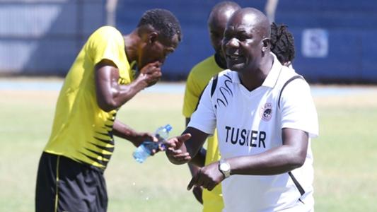 Tusker coach slams keeper Emery Mvuyekure after Mathare United blunder