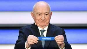 Nikita Simonyan draws Portugal