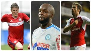 Bastian Schweinsteiger, Lassana Diarra, Mathieu Flamini GFX
