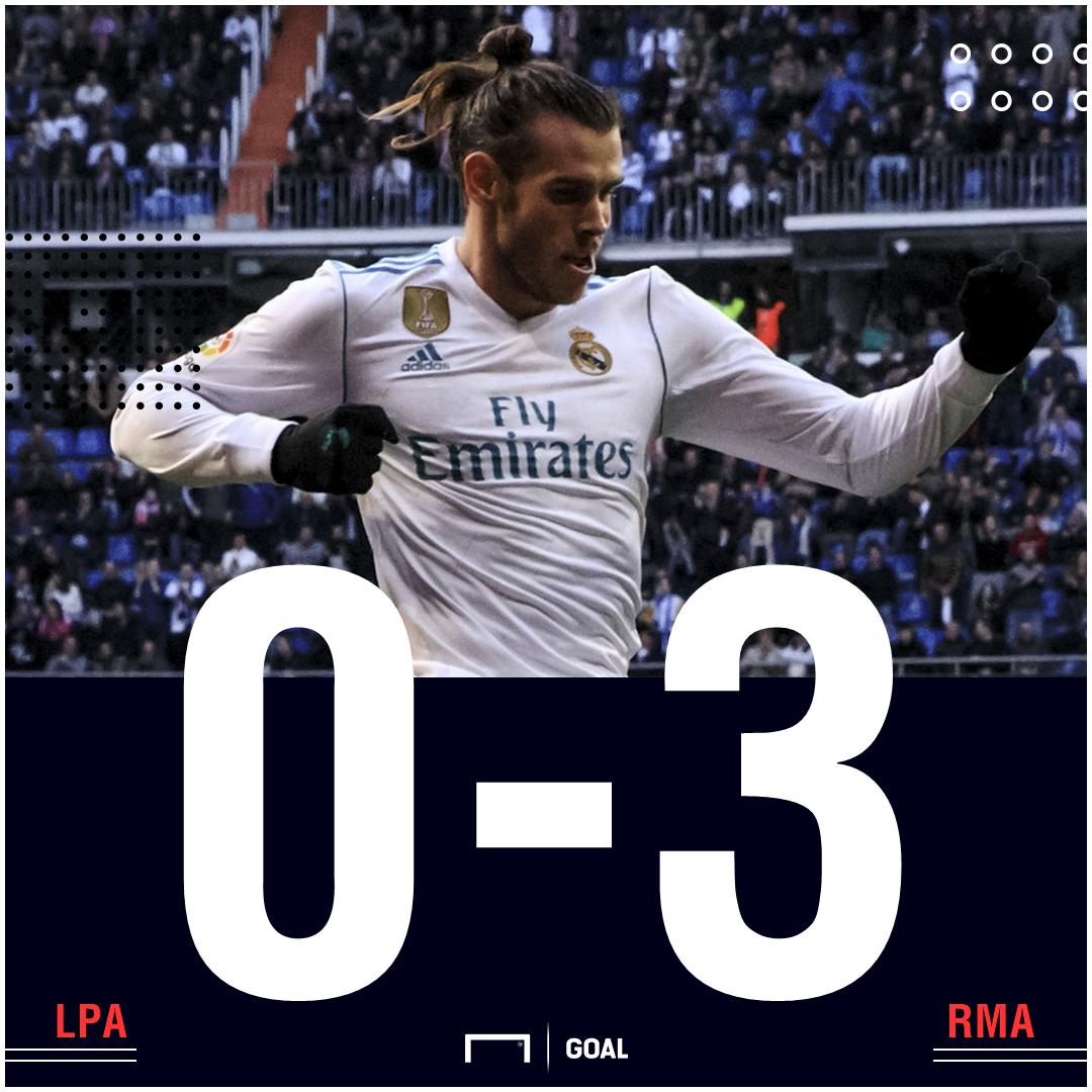 Las Palmas Real Madrid score