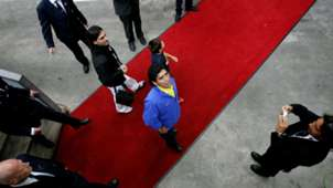 Diego Maradona Manager Boca Juniors Netherlands 2005