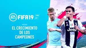 FIFA 19 El crecimiento de los campeones