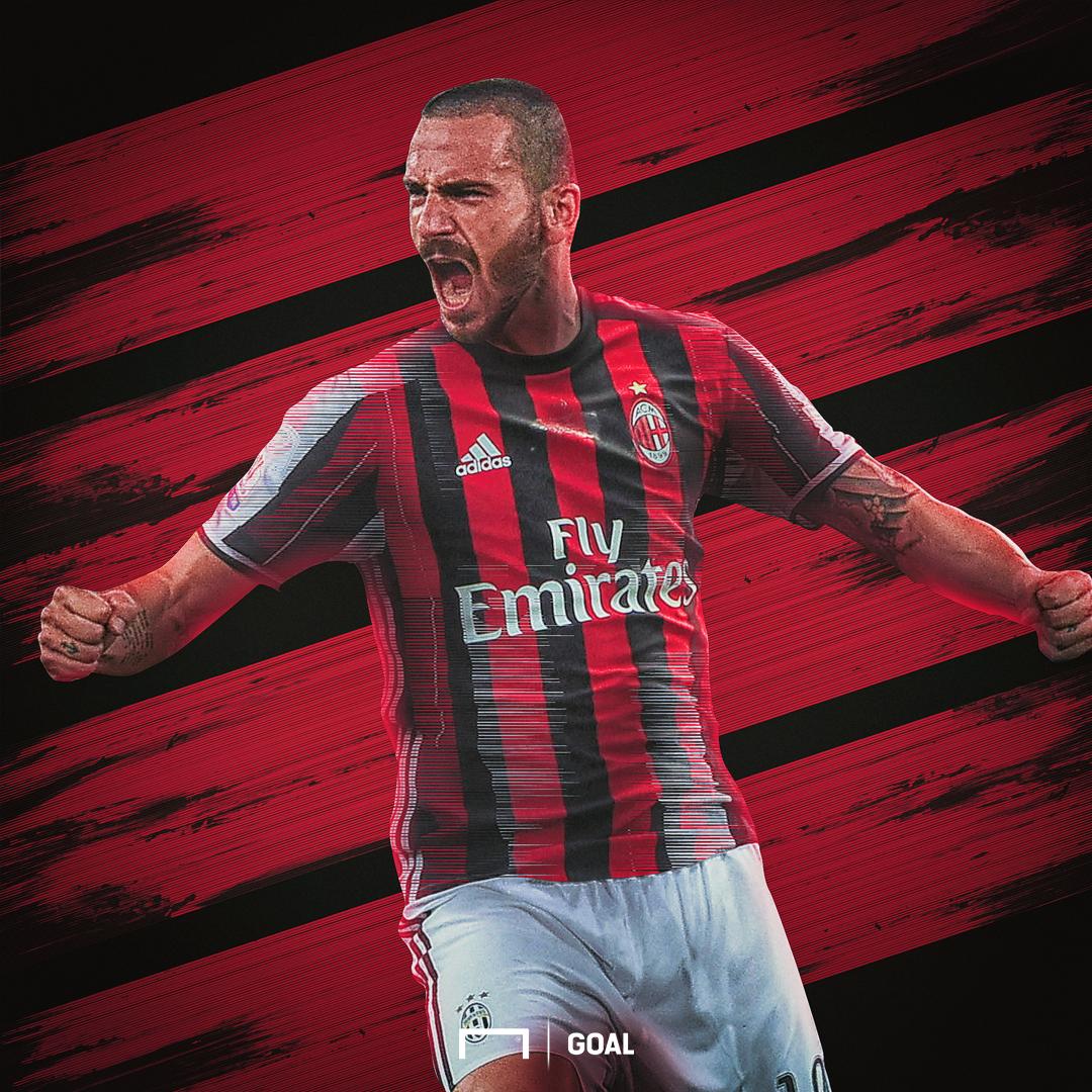 EMBED ONLY Leonardo Bonucci AC Milan GFX
