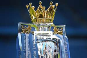 premier league trophy crown