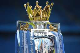 premier league trophy crown