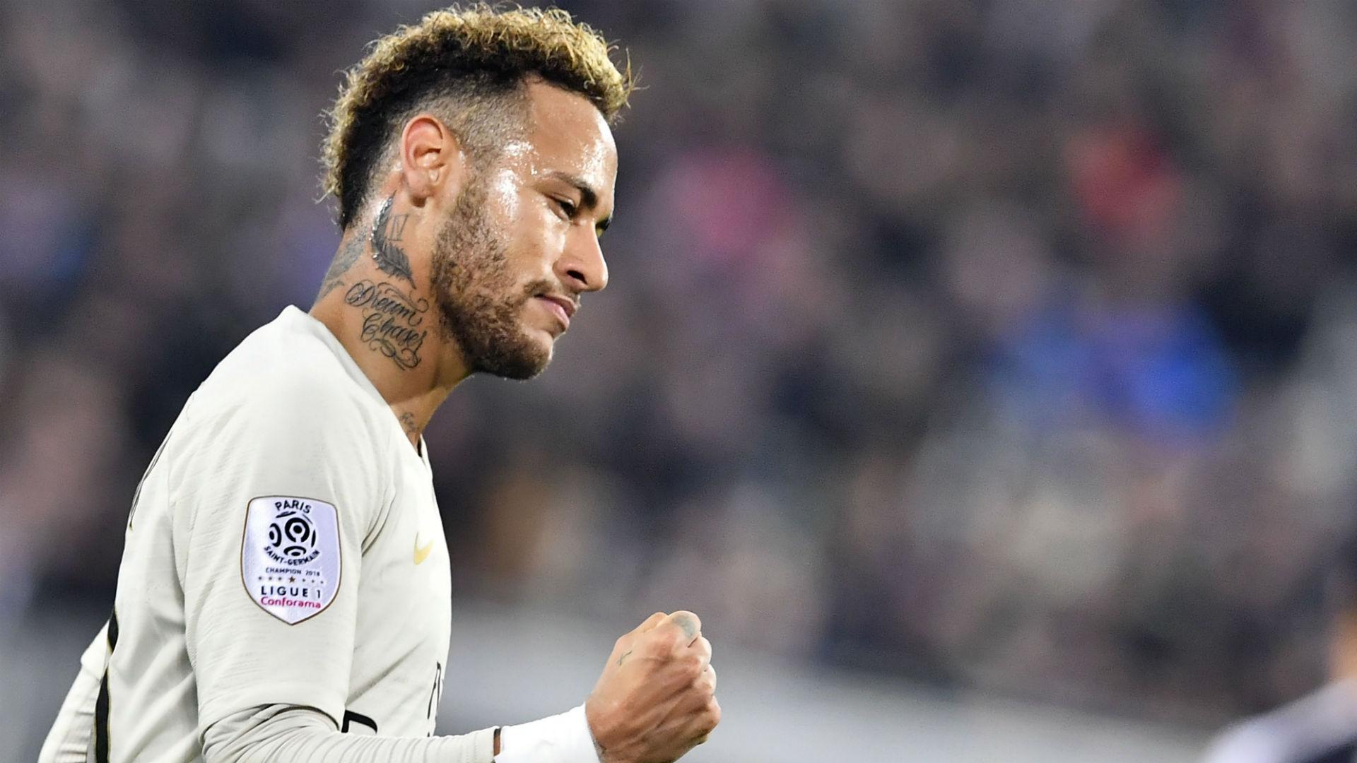 Neymar Bordeaux PSG Ligue 1 02122018