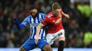 Jurgen Locadia Scott McTominay Brighton Manchester United FA Cup