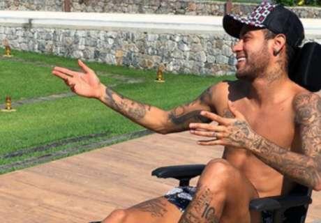 Los tatuajes de Neymar: cuántos tiene, diseños y fotos