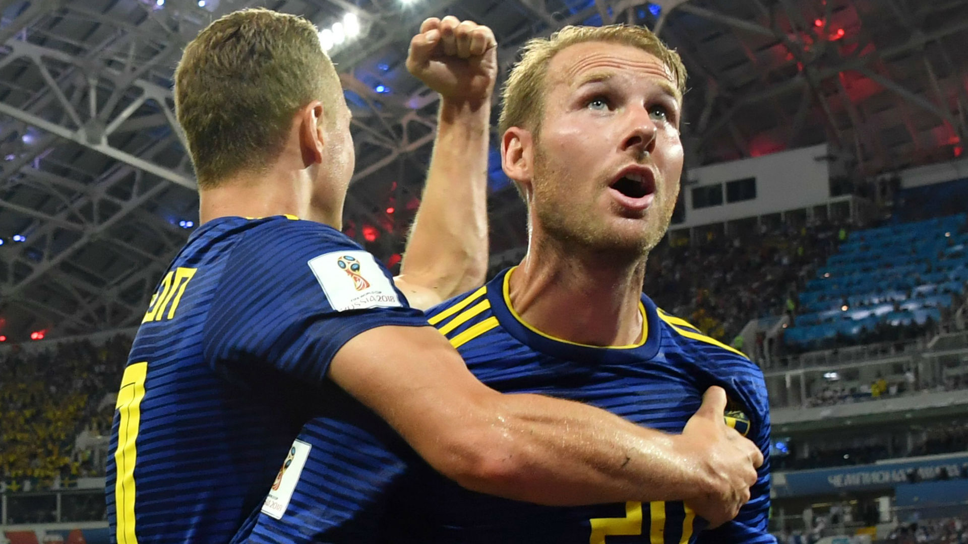 Ola Toivonen Sweden World Cup