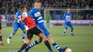 Jordi Clasie Mike van Duinen PEC Zwolle - Feyenoord 01192019