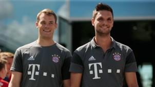 Sven Ulreich Manuel Neuer Bayern Munchen
