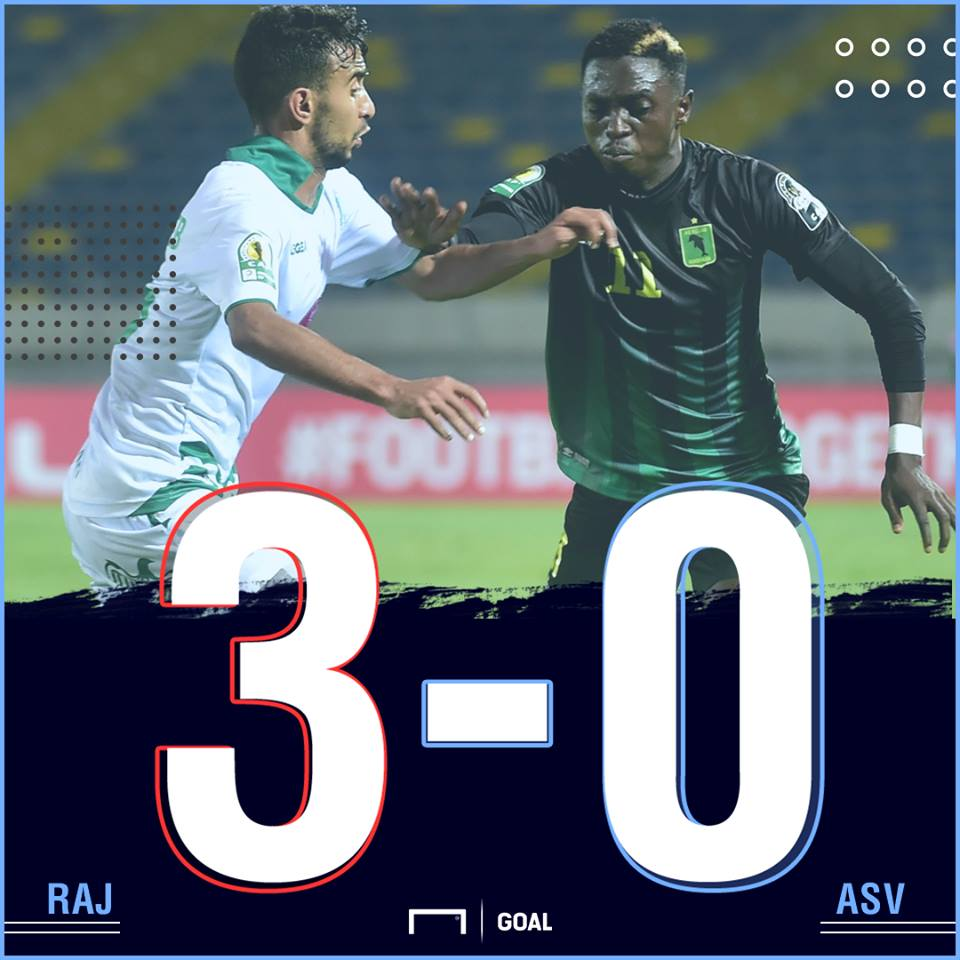 Raja Casablanca AS Vita scoreline PS