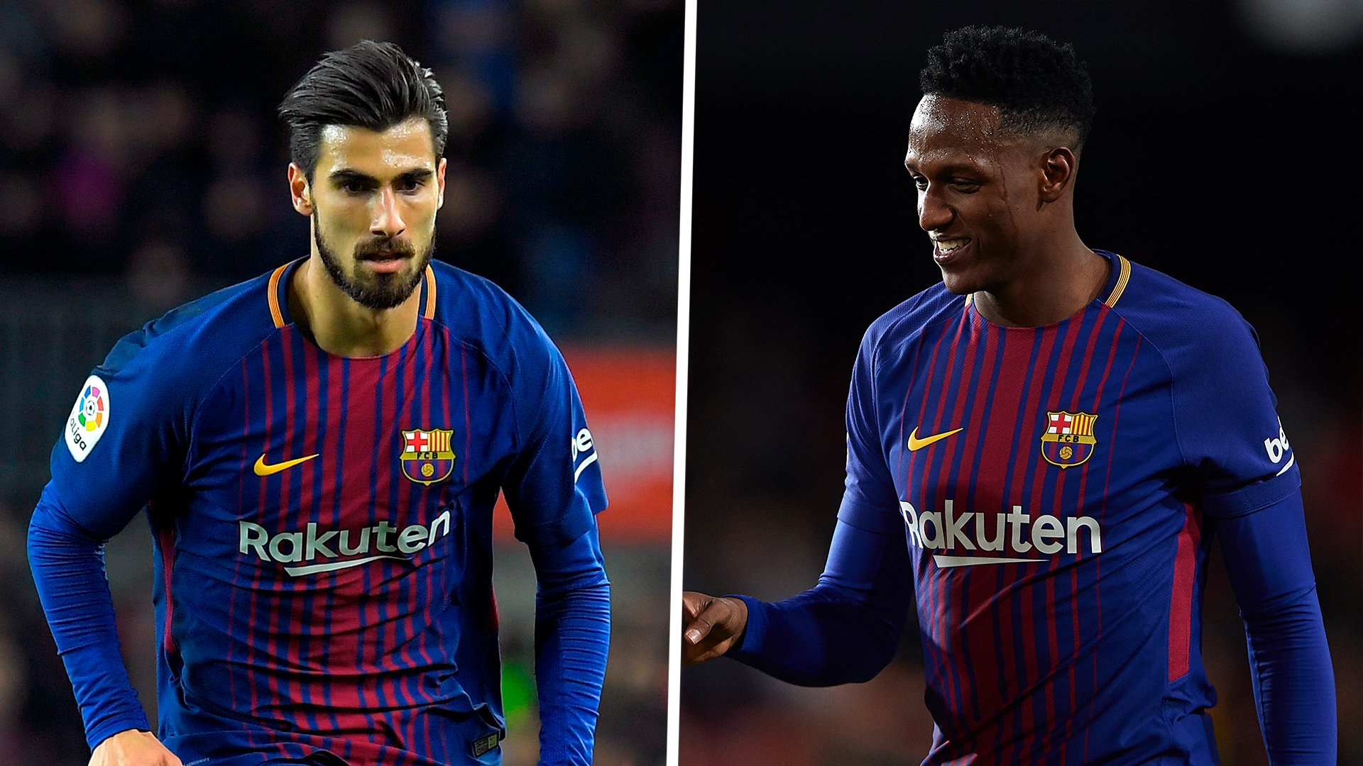 Everton Transfer News Yerry Mina Completes Em Move As Barcelona Team Mate Andre Gomes Joins On Loan Goal Com