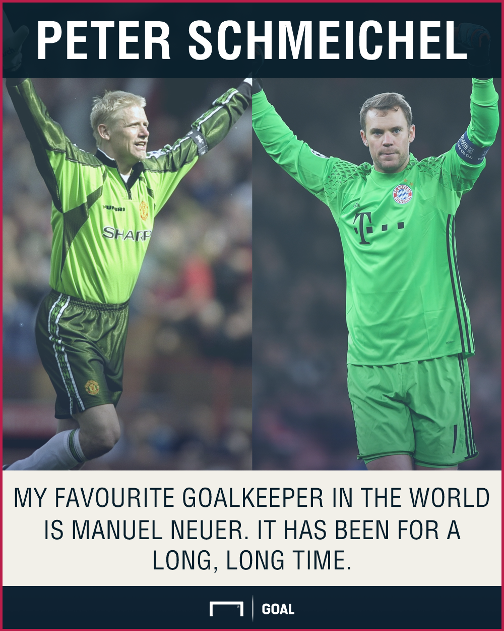 Peter Schmeichel Manuel Neuer world's best
