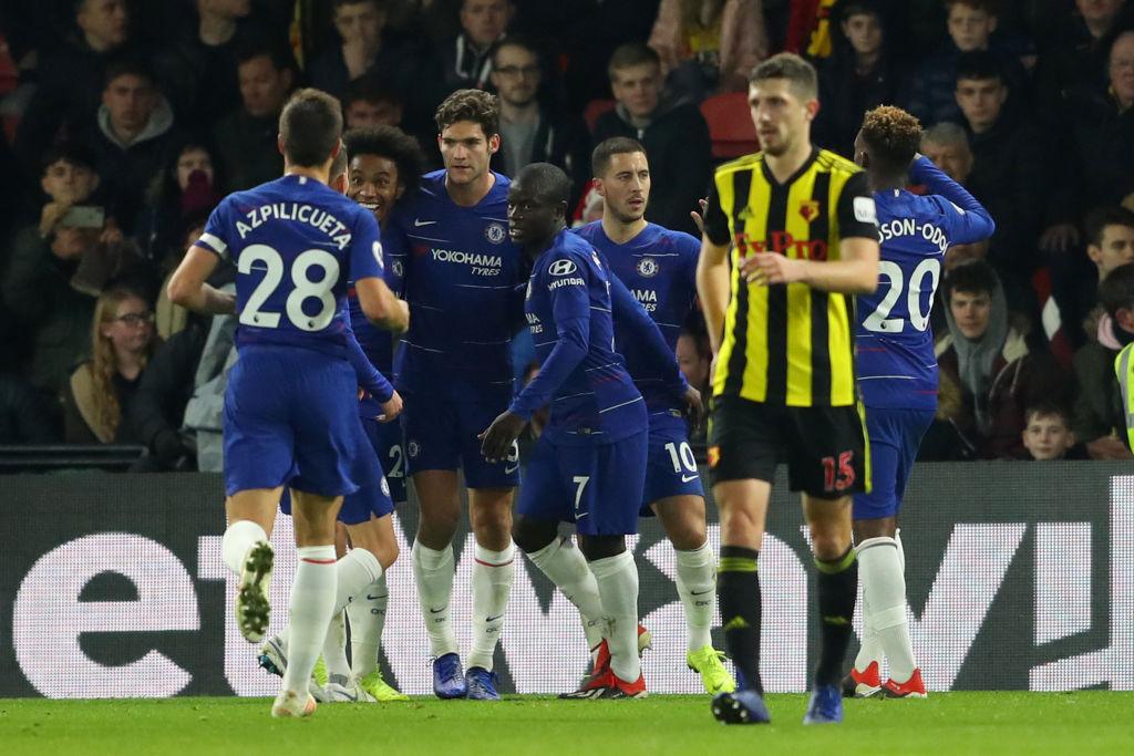 Watford Chelsea Premier League 261218